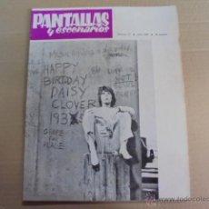Cine: PANTALLAS Y ESCENARIOS Nº 73 - 1967 SAN SEBASTIAN FESTIVAL - MARIA VICO -MINNELLI -PSICOPATA FRANCIS. Lote 51965518