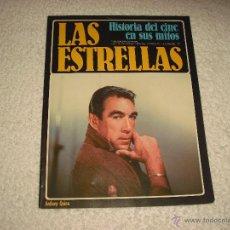 Cine: HISTORIA DEL CINE EN SUS MITOS . LAS ESTRELLAS N. 77 ANTHONY QUINN. Lote 52126259