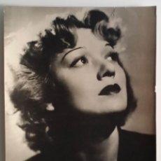 Cine: EDWIGE FEUILLÈRE: FOTO VINTAGE DE TEDDY PIAZ, 1940. Lote 52132597