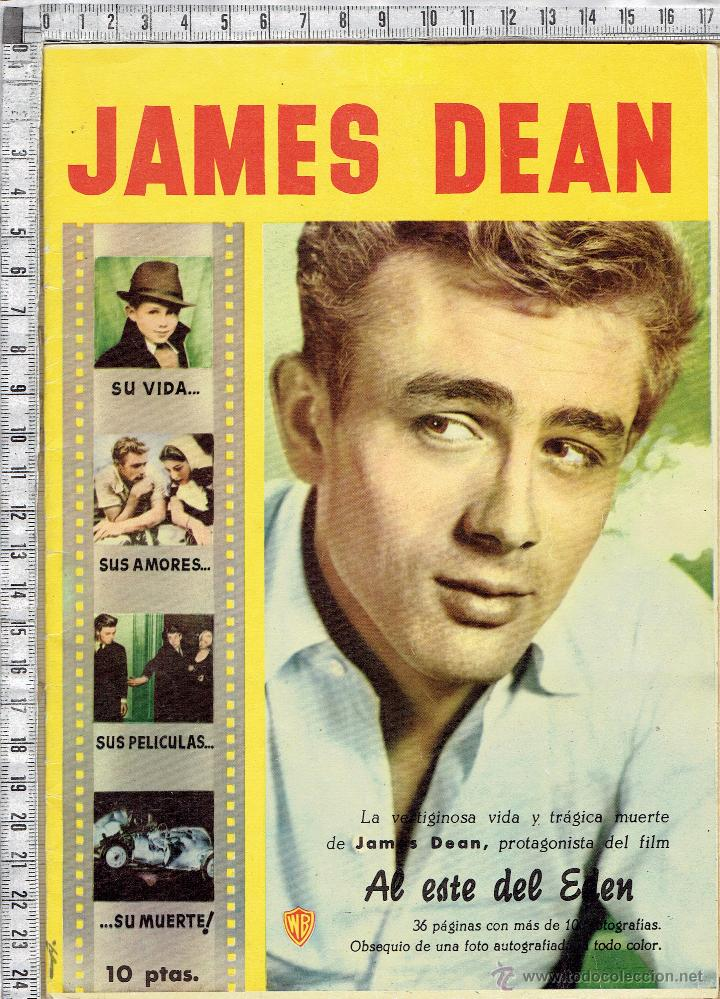 REVISTA CINE CINECOLOR MONOGRAFICA DE JAMES DEAN. (Cine - Revistas - Cinecolor)