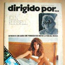 Cine: DIRIGIDO POR... KEN RUSSEL - ENTREVISTA CON SAURA; MARZO 1976, N° 31. Lote 52283005