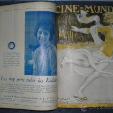 Cine: CINE MUNDIAL. AÑO 1924 COMPLETO.. Lote 52299706