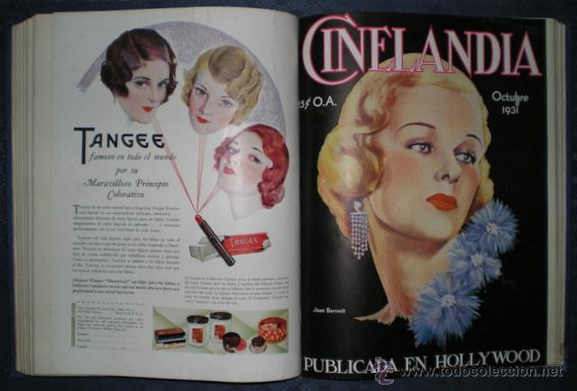 CINELANDIA. MARZO A DICIEMBRE DE 1931. PUBLICADA EN HOLLYWOOD. (Cine - Revistas - Cinelandia)
