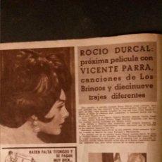 Cinema: REVISTA CINE EN 7 DIAS-ROCIO DURCAL-MARIA KULENDIK-MISSES-BOBBY DARIN. Lote 52316698