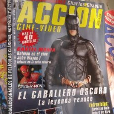 Cine: REVISTA CINE Y VIDEO - CON POSTERS CENTRAL -PORTADA BATMAN , ENTREVISTA ROBERT DE NIRO..... Lote 52365296