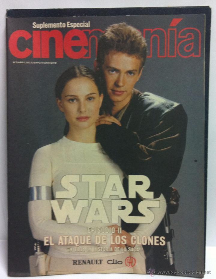 Cine: STAR WARS ESPECIAL CINEMANIA VOL 1 EL ATAQUE DE LOS CLONES .EPISODIO II. - Foto 2 - 52383768