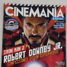 Cine: REVISTA CINEMANÍA Nº 176 MAYO 2010. Lote 52401256