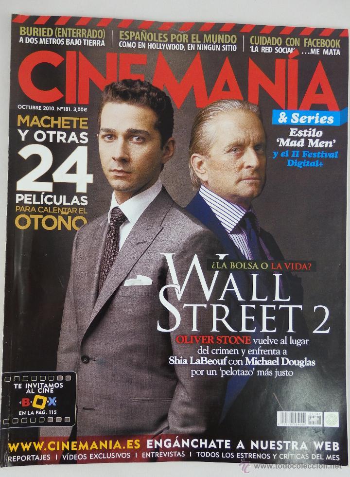 REVISTA CINEMANÍA Nº 181 OCTUBRE 2010 (Cine - Revistas - Cinemanía)