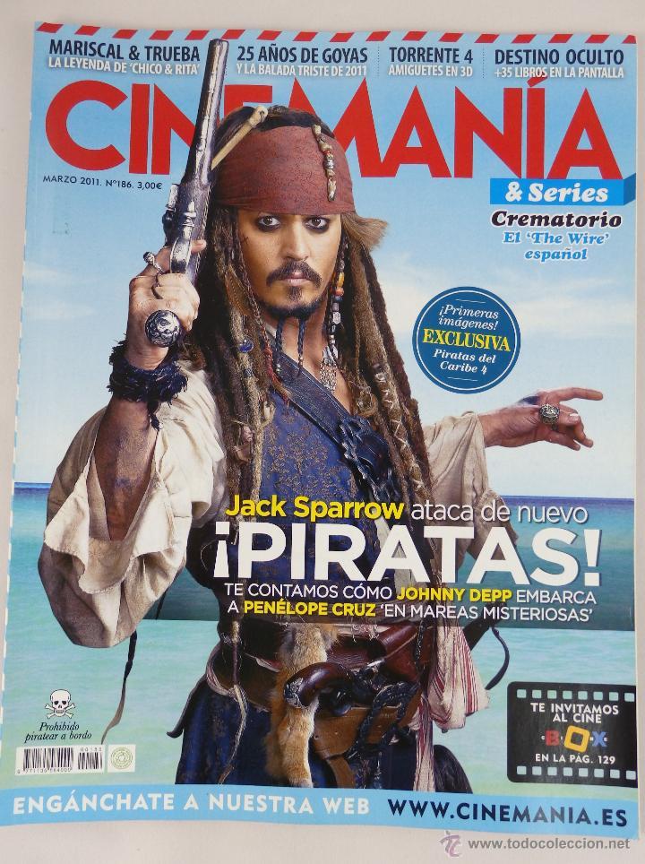 REVISTA CINEMANÍA Nº 186 MARZO 2011 (Cine - Revistas - Cinemanía)