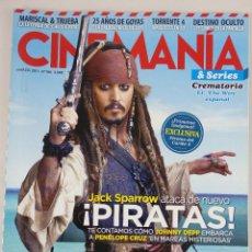 Cine: REVISTA CINEMANÍA Nº 186 MARZO 2011. Lote 52401908