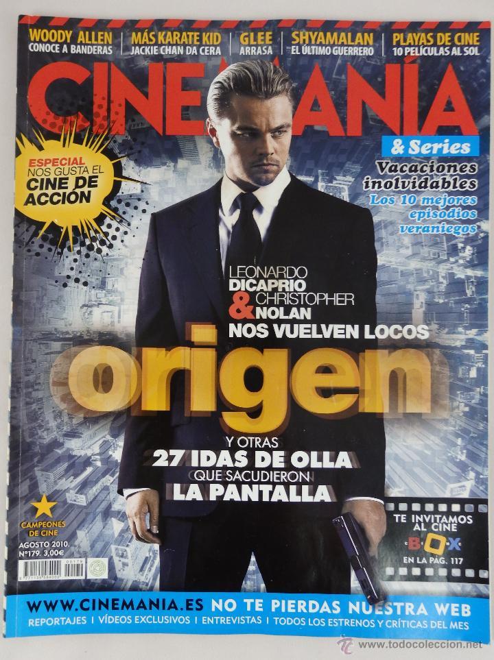 REVISTA CINEMANÍA Nº 179 AGOSTO 2010 (Cine - Revistas - Cinemanía)