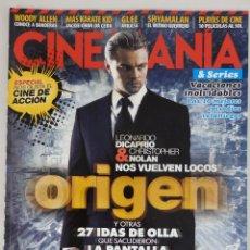 Cine: REVISTA CINEMANÍA Nº 179 AGOSTO 2010. Lote 52401960