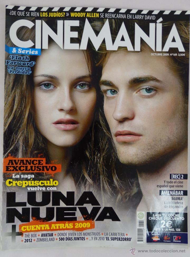 REVISTA CINEMANÍA Nº 169 OCTUBRE 2009 (Cine - Revistas - Cinerama)