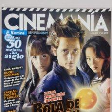 Cinema: REVISTA CINEMANÍA Nº 163 ABRIL 2009. Lote 52402017
