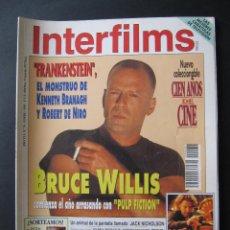 Cine: REVISTA INTERFILMS. Nº 76. ENERO 1995. Lote 52448271