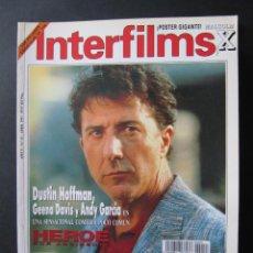 Cine: REVISTA INTERFILMS. Nº 55. ABRIL 1993. REPORTAJE JOHN TRAVOLTA.. Lote 52448347