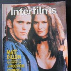Cine: REVISTA INTERFILMS. Nº 26. NOVIEMBRE 1990. REPORTAJE GROUCHO MARX. REPORTAJE KING VIDOR. Lote 52448377
