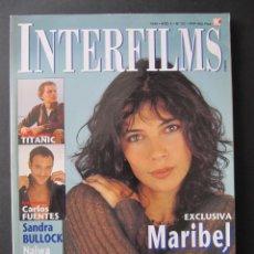 Cine: REVISTA INTERFILMS. Nº 121. OCTUBRE 1998. REPORTAJES: TITANIC. MARIA FELIX. . Lote 52448432