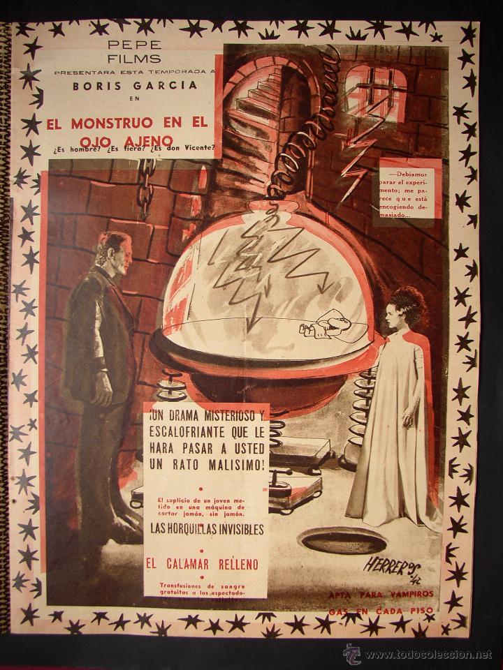 Cine: REVISTA LA CODORNIZ , MONOGRAFICO DEDICADO AL CINE , Nº 77, AÑO 1942 - Foto 3 - 52602725