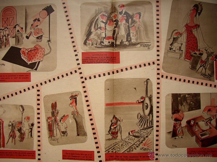 Cine: REVISTA LA CODORNIZ , MONOGRAFICO DEDICADO AL CINE , Nº 77, AÑO 1942 - Foto 4 - 52602725