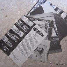 Cine: MARILYN MONROE RECORTES REVISTA PHOTO AÑOS 80.. Lote 52605388