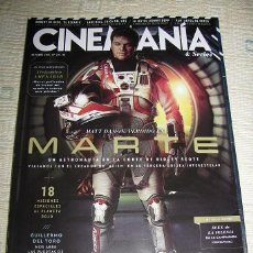 Cine: CINEMANIA Nº241 (EN PORTADA:MATT DAMON-MARTE) LEER DESCRIPCION. Lote 52638811