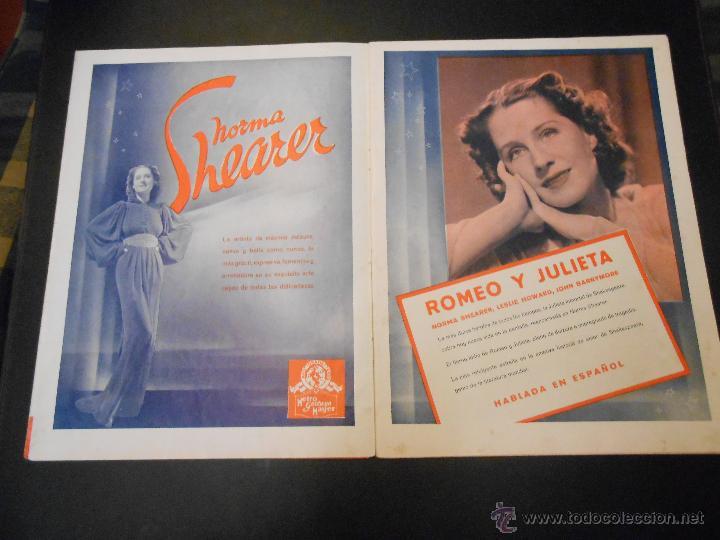 Cine: EL RUGIDO DEL LEON - NUMERO EXTRAORDINARIO DE 1936 - JOYAS DEL SEPTIMO ARTE EN EL INTERIOR - Foto 4 - 52640178