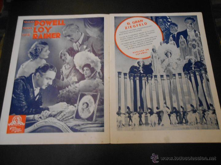 Cine: EL RUGIDO DEL LEON - NUMERO EXTRAORDINARIO DE 1936 - JOYAS DEL SEPTIMO ARTE EN EL INTERIOR - Foto 5 - 52640178