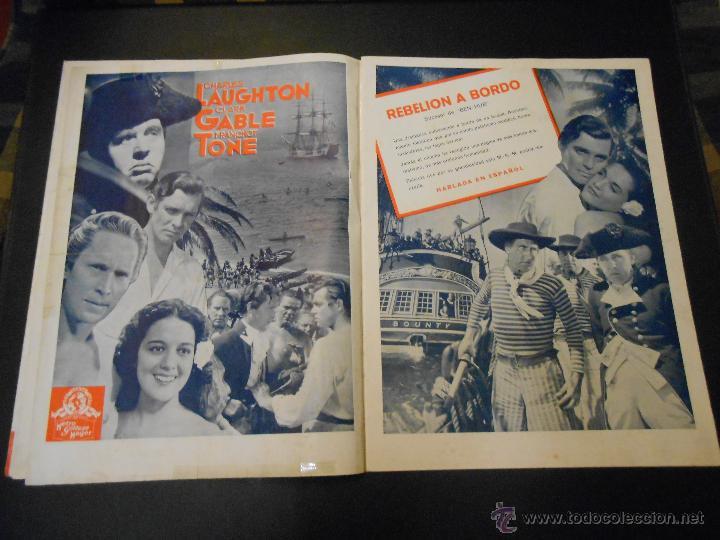 Cine: EL RUGIDO DEL LEON - NUMERO EXTRAORDINARIO DE 1936 - JOYAS DEL SEPTIMO ARTE EN EL INTERIOR - Foto 7 - 52640178