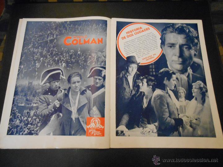 Cine: EL RUGIDO DEL LEON - NUMERO EXTRAORDINARIO DE 1936 - JOYAS DEL SEPTIMO ARTE EN EL INTERIOR - Foto 9 - 52640178