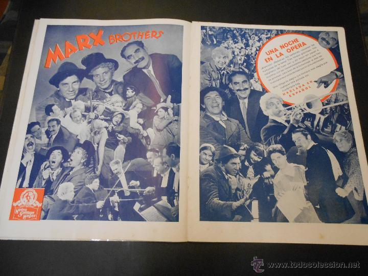 Cine: EL RUGIDO DEL LEON - NUMERO EXTRAORDINARIO DE 1936 - JOYAS DEL SEPTIMO ARTE EN EL INTERIOR - Foto 13 - 52640178