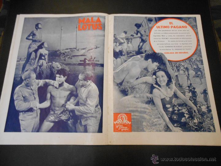 Cine: EL RUGIDO DEL LEON - NUMERO EXTRAORDINARIO DE 1936 - JOYAS DEL SEPTIMO ARTE EN EL INTERIOR - Foto 14 - 52640178