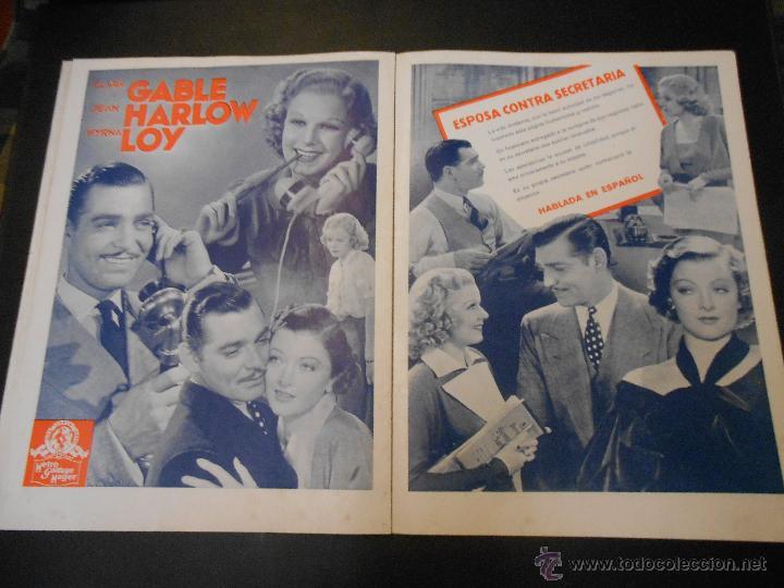 Cine: EL RUGIDO DEL LEON - NUMERO EXTRAORDINARIO DE 1936 - JOYAS DEL SEPTIMO ARTE EN EL INTERIOR - Foto 15 - 52640178