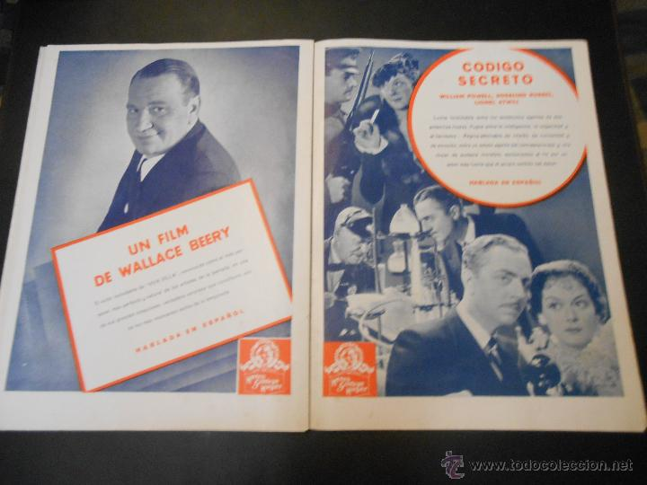 Cine: EL RUGIDO DEL LEON - NUMERO EXTRAORDINARIO DE 1936 - JOYAS DEL SEPTIMO ARTE EN EL INTERIOR - Foto 17 - 52640178