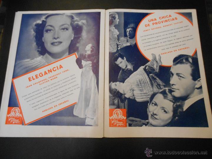 Cine: EL RUGIDO DEL LEON - NUMERO EXTRAORDINARIO DE 1936 - JOYAS DEL SEPTIMO ARTE EN EL INTERIOR - Foto 18 - 52640178