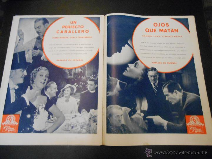 Cine: EL RUGIDO DEL LEON - NUMERO EXTRAORDINARIO DE 1936 - JOYAS DEL SEPTIMO ARTE EN EL INTERIOR - Foto 21 - 52640178