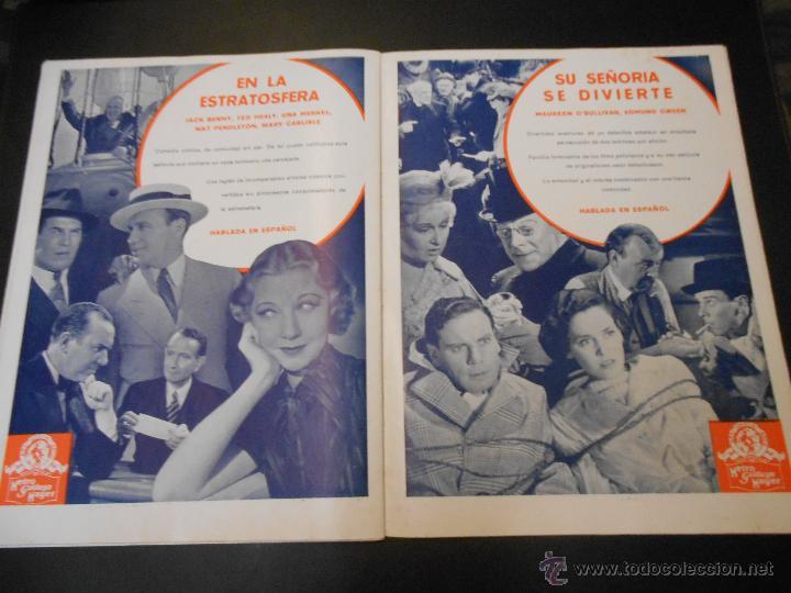Cine: EL RUGIDO DEL LEON - NUMERO EXTRAORDINARIO DE 1936 - JOYAS DEL SEPTIMO ARTE EN EL INTERIOR - Foto 23 - 52640178