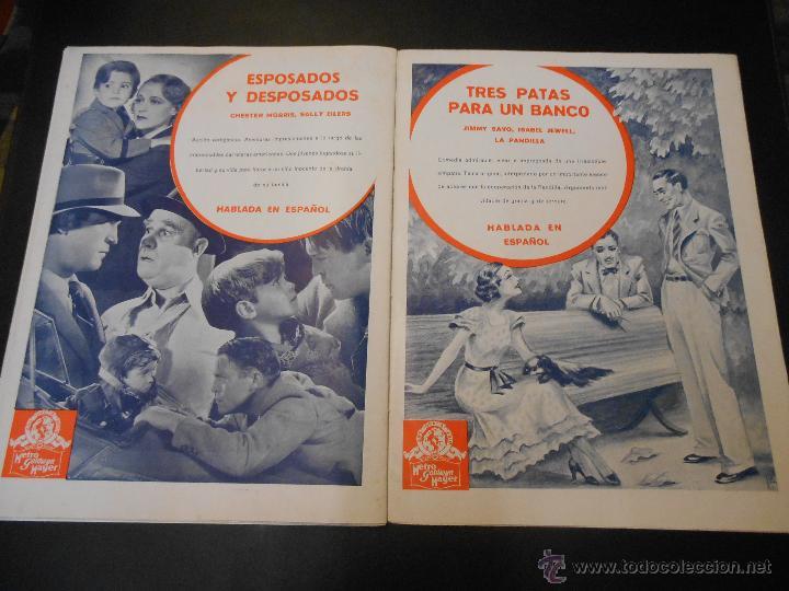 Cine: EL RUGIDO DEL LEON - NUMERO EXTRAORDINARIO DE 1936 - JOYAS DEL SEPTIMO ARTE EN EL INTERIOR - Foto 24 - 52640178