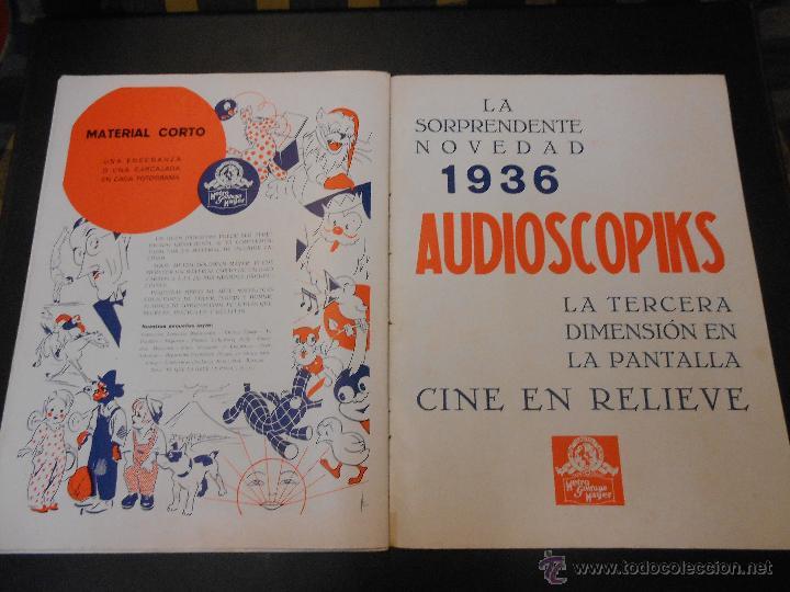 Cine: EL RUGIDO DEL LEON - NUMERO EXTRAORDINARIO DE 1936 - JOYAS DEL SEPTIMO ARTE EN EL INTERIOR - Foto 25 - 52640178