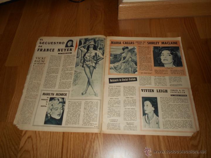 Cine: Revista cine fotogramas , año 1960 Nº 615 MARILYN MONROE MARIA CALLAS S. MACLAINE BRANDO - Foto 2 - 52655116