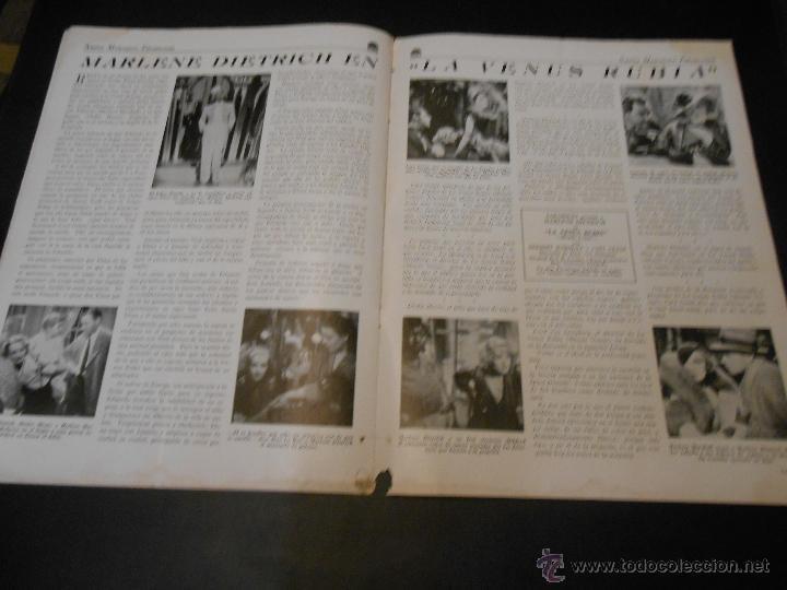 Cine: NUEVO MENSAJERO PARAMOUNT - REVISTA ORIGINAL DE DICIEMBRE DE 1932 - Foto 6 - 52665199