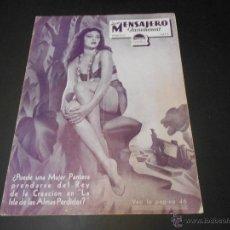 Cine: NUEVO MENSAJERO PARAMOUNT - REVISTA ORIGINAL DE MARZO DE 1933. Lote 52665326