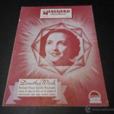 Cine: NUEVO MENSAJERO PARAMOUNT - REVISTA ORIGINAL DE JULIO DE 1933. Lote 52666126