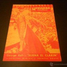 Cine: NUEVO MENSAJERO PARAMOUNT - REVISTA ORIGINAL DE MAYO DE 1934. Lote 52666384