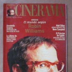 Cinema: REVISTA CINERAMA - NÚMERO 75 - DICIEMBRE 1998 - INCLUYE FASCÍCULO DE DICCIONARIO DE ACTORES. Lote 52731656