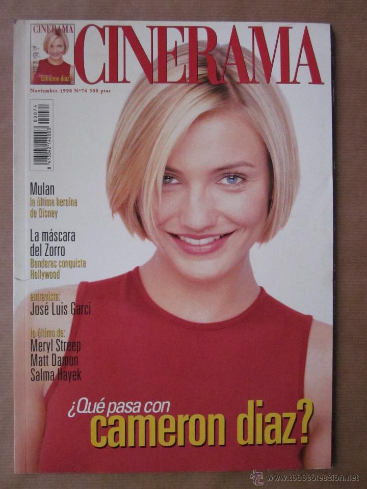 REVISTA CINERAMA - NÚMERO 74 - NOVIEMBRE 1998 - INCLUYE FASCÍCULO DE DICCIONARIO DE ACTORES (Cine - Revistas - Cinerama)