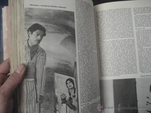 Cine: Revista de cine: film ideal Del nº 87 al 110 Año 1962, 24 números Año completo encuadernado gfa1 - Foto 4 - 52688536