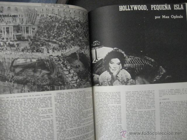 Cine: Revista de cine: film ideal Del nº 87 al 110 Año 1962, 24 números Año completo encuadernado gfa1 - Foto 6 - 52688536