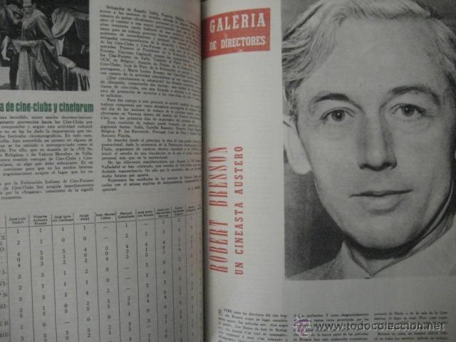 Cine: Revista de cine: film ideal Del nº 87 al 110 Año 1962, 24 números Año completo encuadernado gfa1 - Foto 8 - 52688536