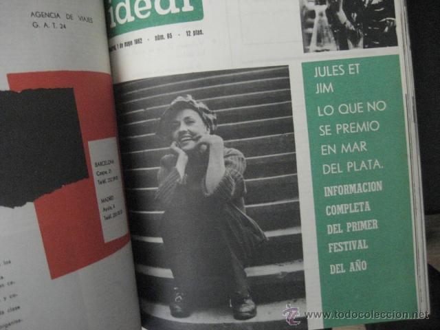 Cine: Revista de cine: film ideal Del nº 87 al 110 Año 1962, 24 números Año completo encuadernado gfa1 - Foto 10 - 52688536